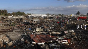 Tote und Verletzte bei Explosion auf Markt für Pyrotechnik