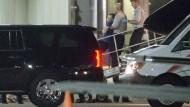 Otto Warmbier kommt am Flughafen in Cincinnati an.