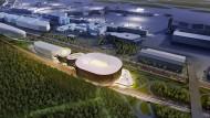 Riesige Arena für Frankfurt: Das Projekt erntet nicht nur Lob.