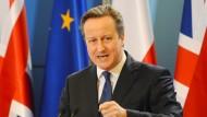 David Cameron: Stehen seine Minister hinter ihm?