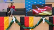 Wahlkampfauftakt der AfD in Hessen: Beatrix von Storch tritt in Wiesbaden auf.