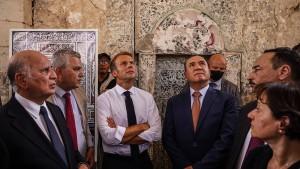 """""""Frankreich wird seine Militärpräsenz beibehalten"""""""