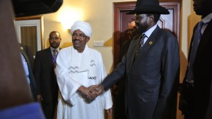 Präsidenten von Nord- und Südsudan treffen sich