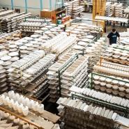 Porzellan-Hersteller sind energiehungrig und befürchten, mit den CO2-Abgaben international nicht mehr mithalten zu können.