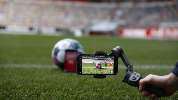 5G für die Fußball-Liveübertragung
