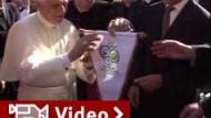 "Der ""Kaiser"" trifft den Papst"