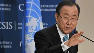 Ban Ki-moon: Al Qaida hinter Anschlägen in Syrien