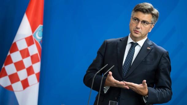 Plenković siegt in Kroatien