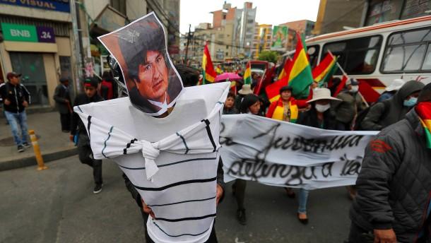 Weiter Unruhen in Bolivien