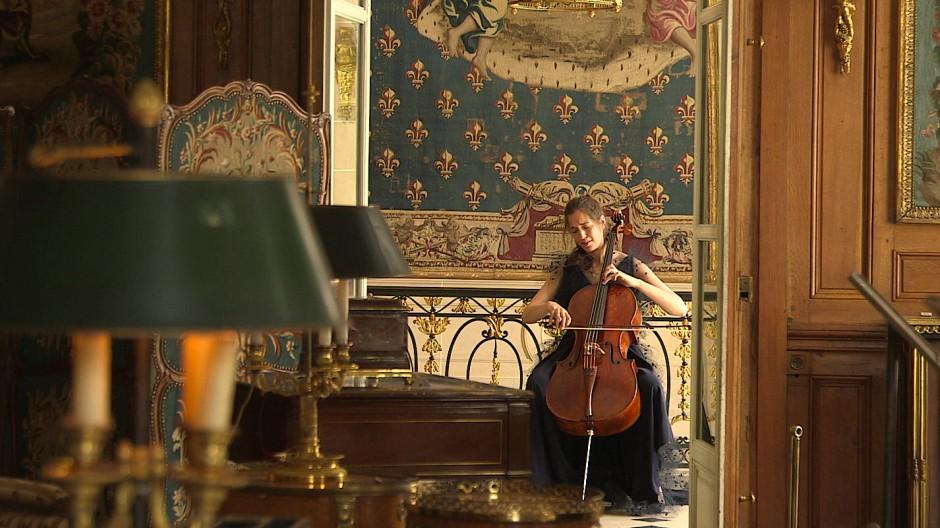 Camille Thomas bei einem ihrer Auftritte