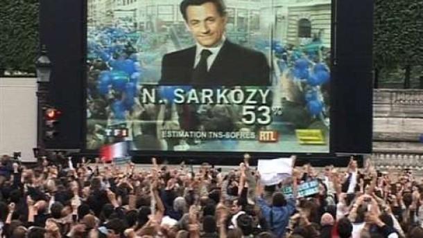 Sarkozy im Umfragetief