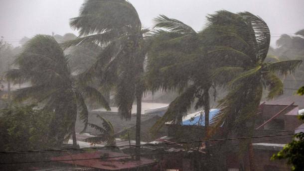 """Hurrikan """"Eta"""" trifft Nicaragua"""