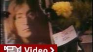 Gedenken an Lennon zum 20. Todestag im Jahr 2000