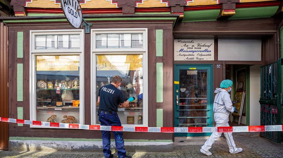 Das Juweliergeschäft in der Innenstadt von Celle war schon häufiger Ziel von Überfällen.