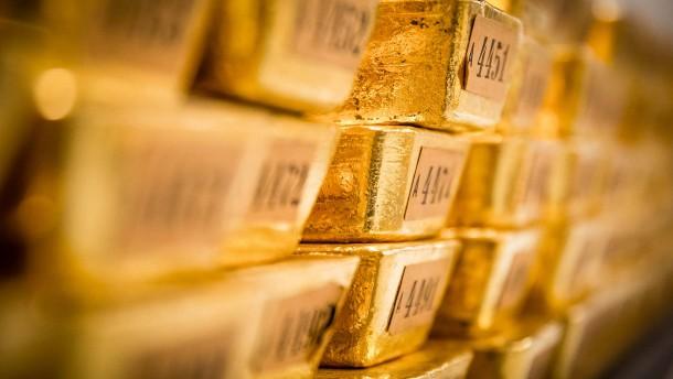 Warum die Zentralbanken weniger Gold kaufen