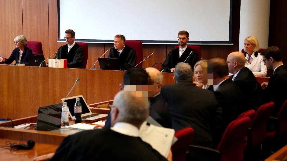 Prozessauftakt am Landgericht Bonn.
