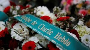 """Gedenken an Anschlag auf """"Charlie Hebdo"""""""