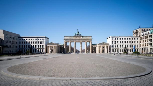 Kein Mensch am Brandenburger Tor