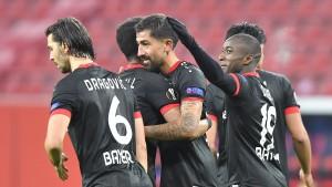 Leverkusen kurz vor der Zwischenrunde