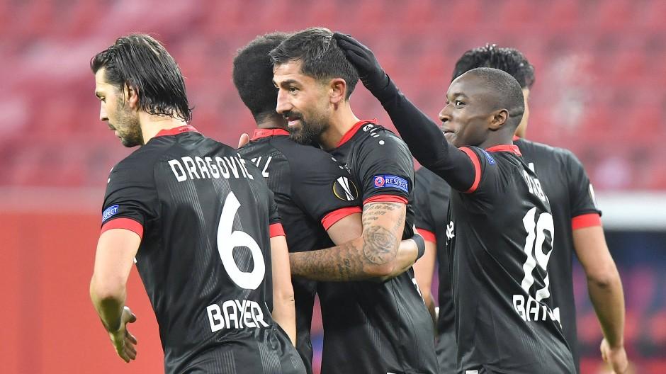 4:1-Sieg: Nur ein Patzer unterläuft Leverkusen.