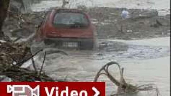 Überschwemmungen auf Kreta