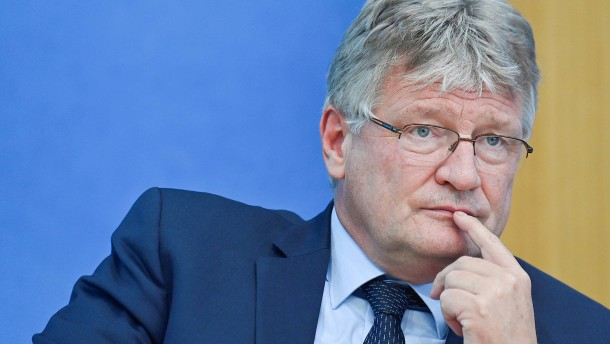 AfD-Chef Meuthen kündigt Rückzug von Parteispitze an