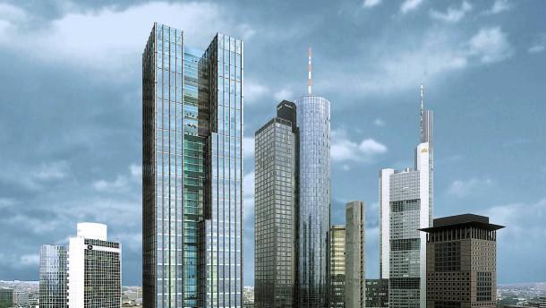 Neuer 200-Meter-Turm im Bankenviertel