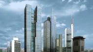 Hoch hinaus: Frankfurts Skyline soll einen neuen Wolkenkratzer bekommen.