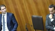 Kurz gegen Kern: Der Kampf um das österreichische Parlament ist eröffnet.