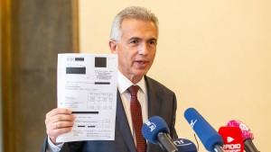 Frankfurter Oberbürgermeister Feldmann vor dem Aus?