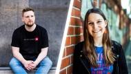 Wie ein junger Liberaler und eine junge Grüne auf eine Ampel-Koalition blicken