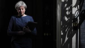 Eine Premierministerin auf Abruf