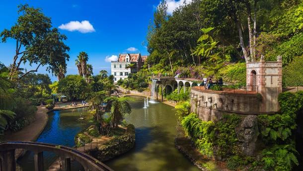 Madeira: Jardim Tropical Monte Palace - ein besonderer Park