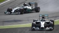Rosberg biegt falsch ab - Hamilton gewinnt