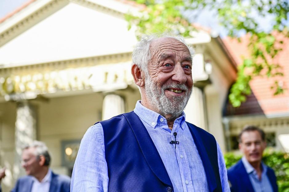 Dieter Hallervorden, 85, kann sich eine weitere Hochzeit vorstellen.