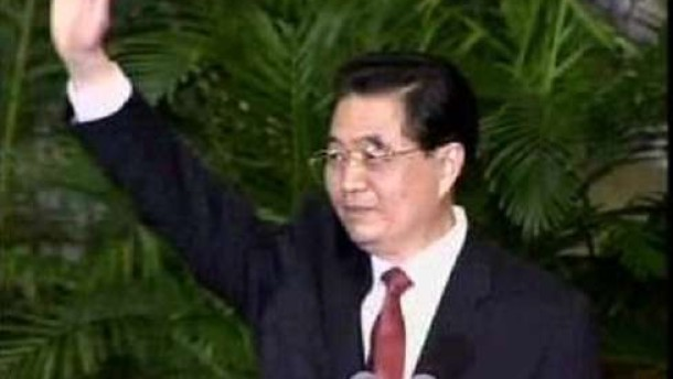 Hu Jintao stellt neue Führung vor