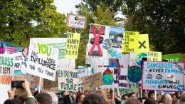 Unternehmer im Klimastreik