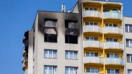 Elf Tote bei einem Hochhausbrand