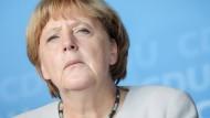Merkel gesteht Fehler in der Flüchtlingspolitik ein