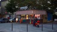 Eine kleine Welt für sich: die Trinkhalle an der Kölner Straße im Frankfurter Gallusviertel