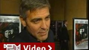 George Clooney präsentiert neuen Film