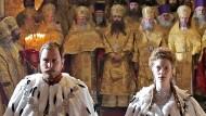 Unser Mann in Moskau: Der deutsche Schauspieler Lars Eidinger verkörpert den letzten russischen Zaren.
