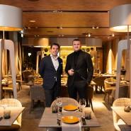 Die Betreiber des Via Monte Napoleone, Dennis Rimonti und Adnan Sejfic profitieren in Corona-Zeiten von ihrem weitläufigen Gastraum.