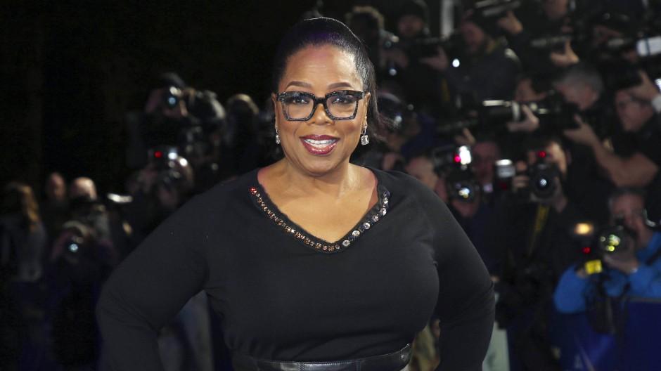 Oprah Winfrey bei einer Filmpremiere 2018