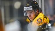 Mögliche Folgen von Corona: Beim Eishockey-Profi Janik Möser wurde eine Herzmuskelentzündung festgestellt.