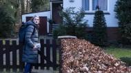 Das Privatleben steht hintan: Schröder hat sich für den Wahlkampf freigenommen.