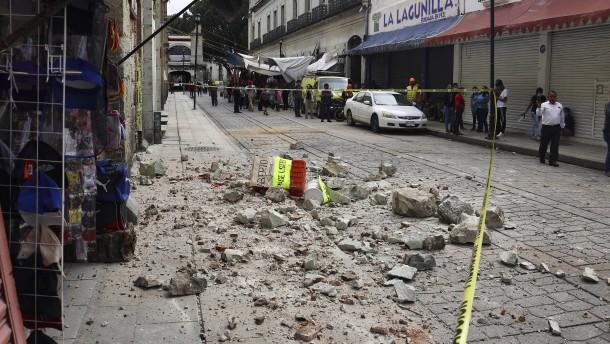 Erdbeben der Stärke 7,4 erschüttert Mexiko