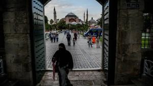 Der Kampf um die Hagia Sophia