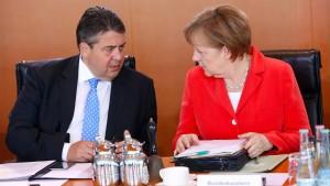 Gabriels deutscher Weg gegen Merkel