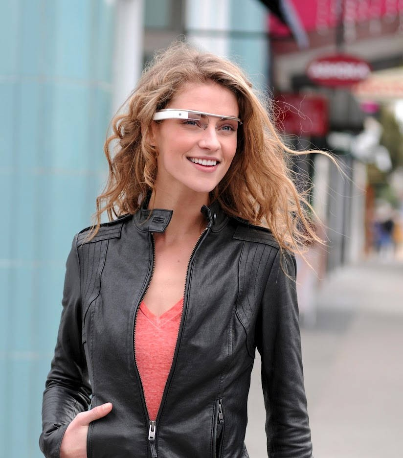 "Seeing the World the way, Google does: with ""Google Glass"""